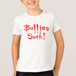 "SKO ""Bullies Suck!"" Awareness Charity Ringer Shirt"