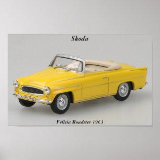 Skoda Felicia Roadster 1963 Print