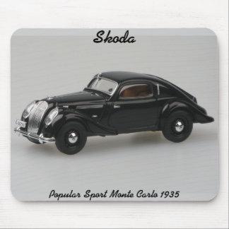 Skoda Popular Sport Monte Carlo 1935 Mousepad