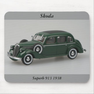 Skoda Superb 913 1938 Mousepad