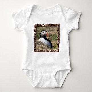 Skomer Island Puffins Baby Bodysuit
