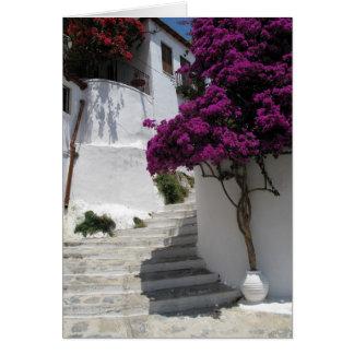 Skopelos Greece Card
