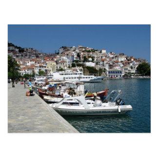 Skopelos Town Postcard