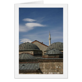 Skopje 1 greeting card