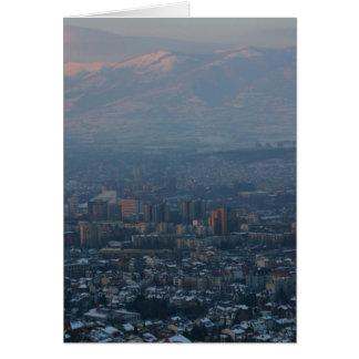 Skopje Greeting Card