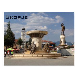 Skopje Postcard