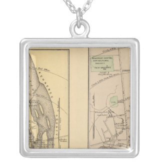 Skowhegan, Fairfield Silver Plated Necklace
