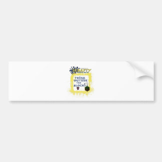 SKrafty Merchandise Car Bumper Sticker