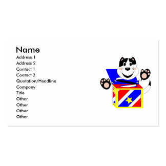 Skrunchkin Cat Mittens In Colorful Box Business Card