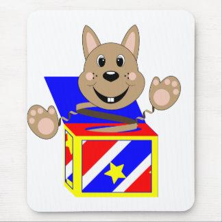 Skrunchkin Rabbit Fudge In Colorful Box Mousepads