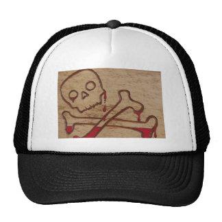 skull 13 vintage trucker hat