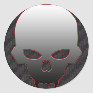 Skull #1 Fan Sticker