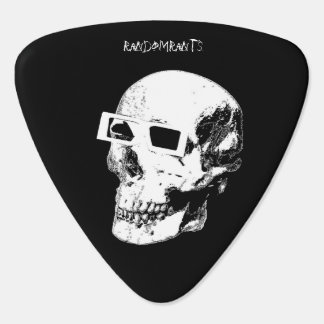 Skull 3D Specs Guitar Picks