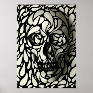 Skull 4 poster