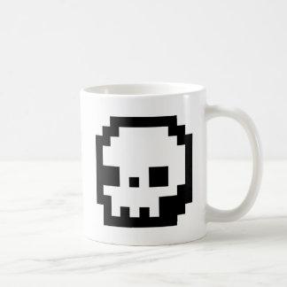 Skull 8-Bit Pixel Art Mug