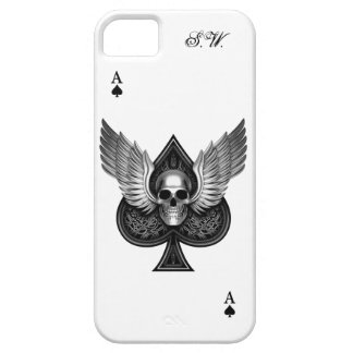 Skull Ace of Spades iPhone 5/5S iPhone 5 Covers