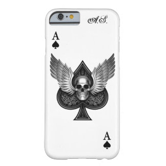 Skull Ace of Spades iPhone 6 Case Barely There iPhone 6 Case