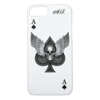 Skull Ace of Spades iPhone 7 Case