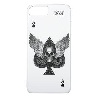 Skull Ace of Spades iPhone 7 Plus case