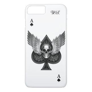 Skull Ace of Spades iPhone 7 Plus case