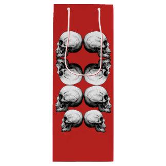 Skull Advanced Profile Dark Protect Wine Gift Bag