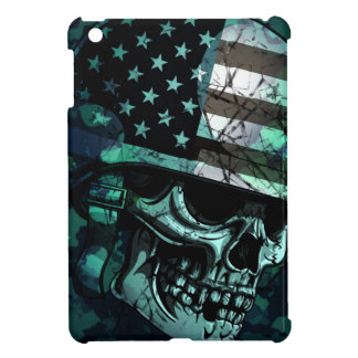 Skull America Soldier Dead Zombie iPad Mini Case