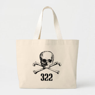 Skull and Bones 322 Canvas Bags