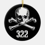 Skull and Bones 322 Ornaments