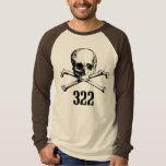 Skull and Bones 322 Tee Shirts