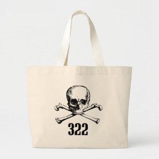 Skull and Bones 322 Jumbo Tote Bag