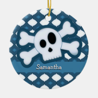 Skull and Bones – 5 Christmas Ornament