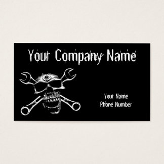Skull and Bones Business Card