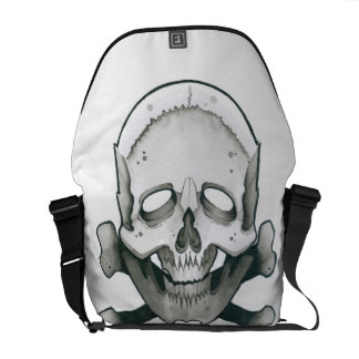 Skull and Bones Commuter Bag