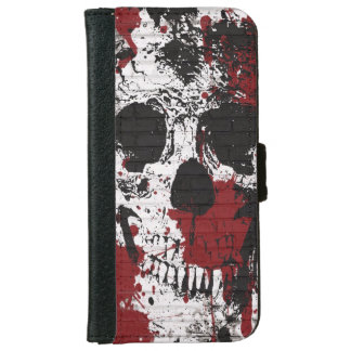 Skull and Bones iPhone6 Wallet Cases iPhone 6 Wallet Case