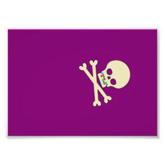 skull and bones art photo