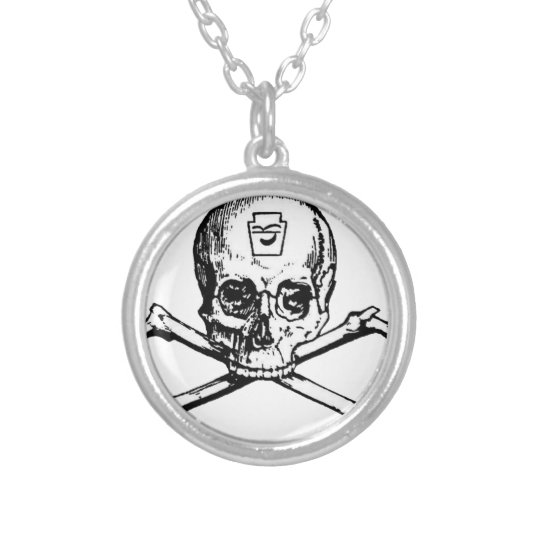 Skull and Bones - Secret Society Silver Plated