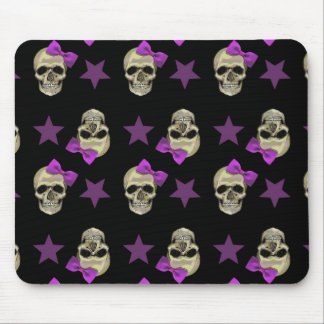 skull and bows mousemats