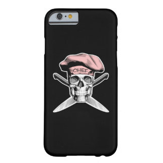 Skull and Chef Knives: Pink Hat Barely There iPhone 6 Case