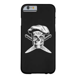 Skull and Chef Knives: White Hat Barely There iPhone 6 Case