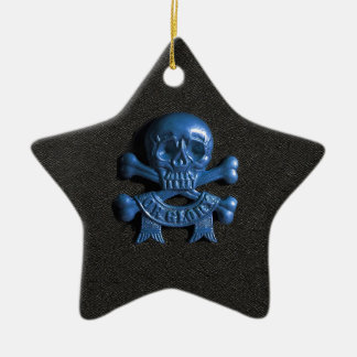 Skull and Cross bones Christmas Ornament