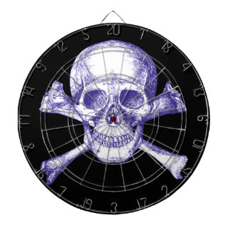 Skull and Cross Bones Dartboard