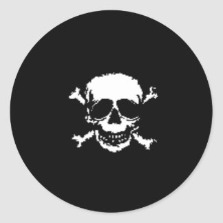 Skull and Cross Bones Sticker