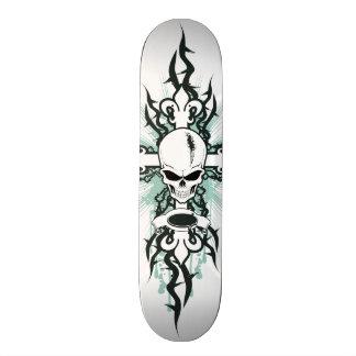 Skull and Cross Skateboard
