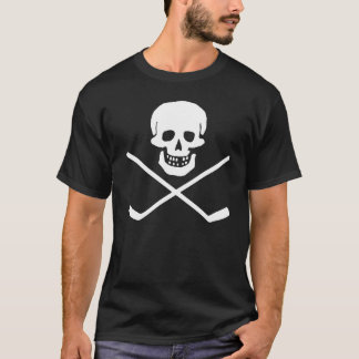 Skull and Cross Sticks Dark T-Shirt