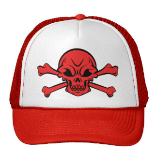 skull and crossbone cap