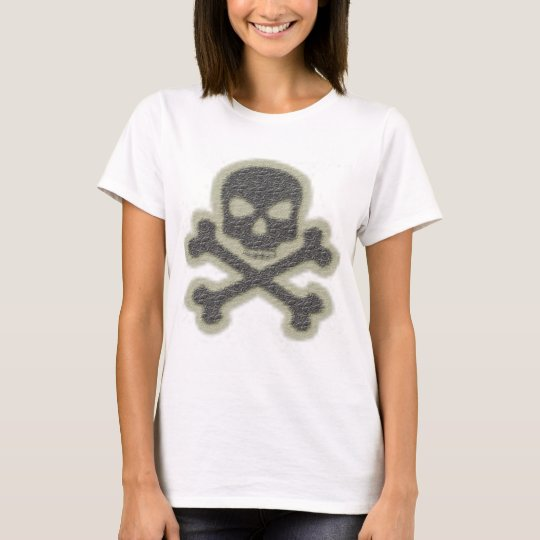 Skull and Crossbone Laiies Top