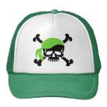 Skull and Crossbones 4 Trucker Hat