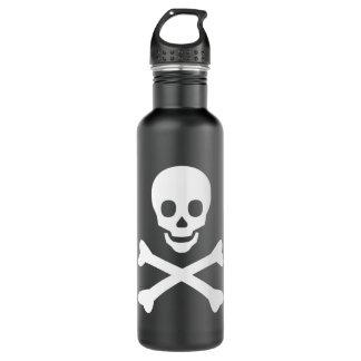 Skull and Crossbones 710 Ml Water Bottle