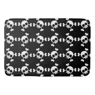 Skull and Crossbones Bath Mat