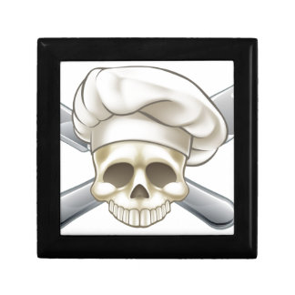 Skull and Crossbones Chef Gift Box